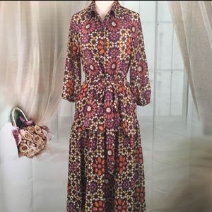 Dresses & Skirts - Vintage 2 Piece Blouse and Skirt Set